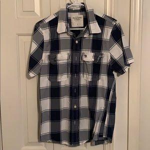 Men's Button Down Abercrombie Shirt